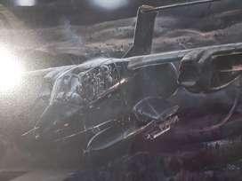 Vendo cuadro de avión Bronco OV-10 militar