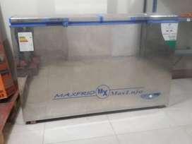Congeladora de 2 puertas - 430 litros en acero inoxidable serie KB-430 N°1941