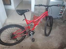 Bicicleta GW como nueva
