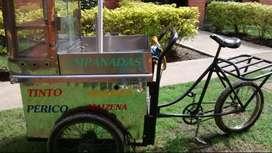 Triciclo de carga para trabajo