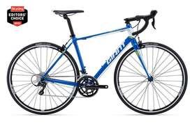 Bicicleta ruta triatlon GIANT talla M flamante poco uso