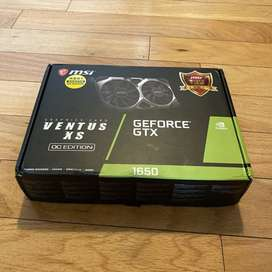 Tarjeta grafica - Nvidia Geforce 1650 Gtx 4 gigas - tarjeta de video