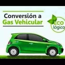 Conversion y reconversion vehicular a gas