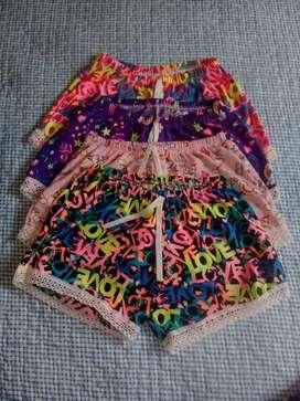 Shorts nuevos