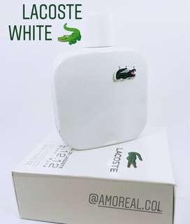 Perfume Lacoste white Blanca