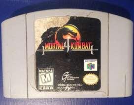 Mortal Kombat 4 Nintendo 64 Cambio