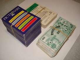 Lote Cartas de Juegos de Mesa