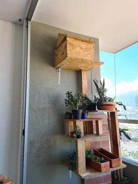 Casa de gato para montar en pared