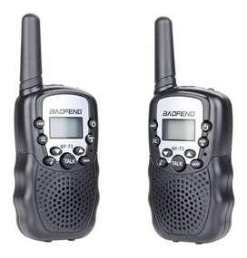 Mini Radios Walkie Talkies Baofeng Bf-t3 X 2 Unidades Niños CC Monterrey local sotano 5