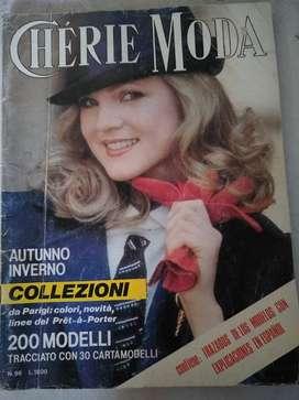 Revista moldes*cherie Otoño invierno**96 año 1979