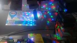 foco doble de luces de fiesta