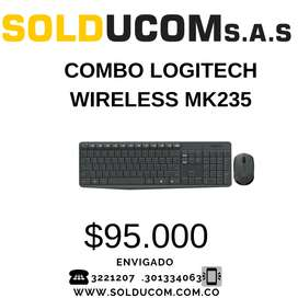 COMBO LOGITECH WIRELESS MK235