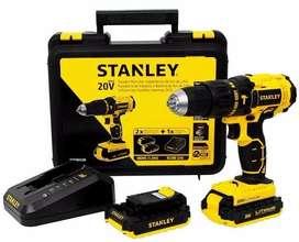 Taladro Percutor Inalambrico Stanley 20 V . Scd201c2k Nuevo con garantia