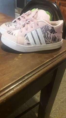 Zapatillas están nuevas