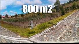 Vendo Terreno Totalmente Plano y Esquinero en Pichincha