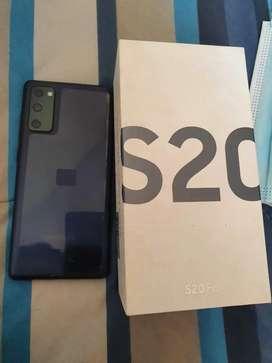 Vendo Samsung S20 FE 9.9/10 CON TODO Y ACESORIOS