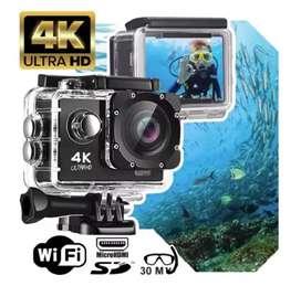 Cámara Sport Cam 4K 16mp Wi-Fi Control Remoto
