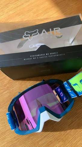 Fox Racing : Air Space Rohr Goggles NUEVAS!