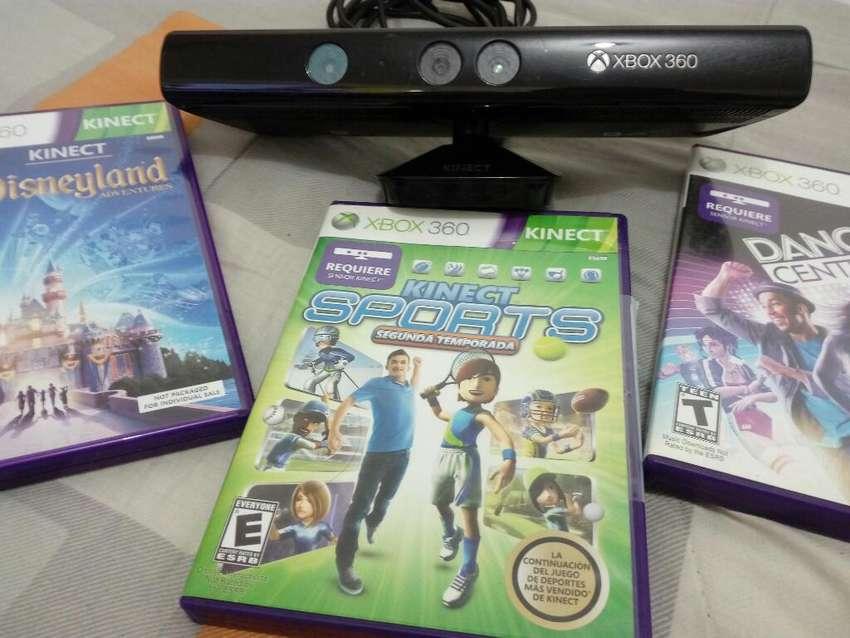 Sensor Kinect X Box 360 Super Slim E Como Nuevo 0
