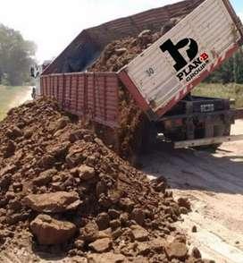 Tierra Tosca X Batea , Camion Completo ,