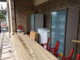 Congelador y refrigeradoras