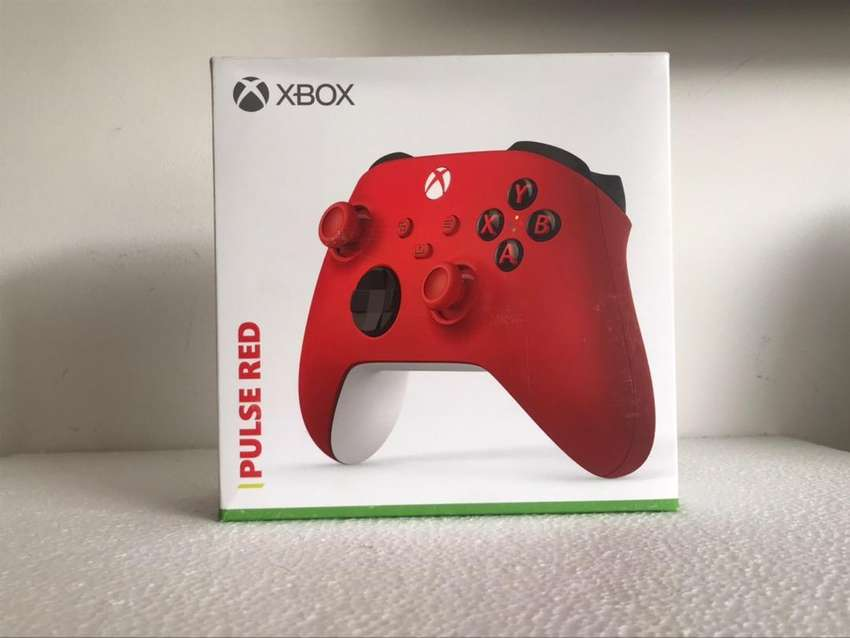 Control xbox one series x/s pulse red