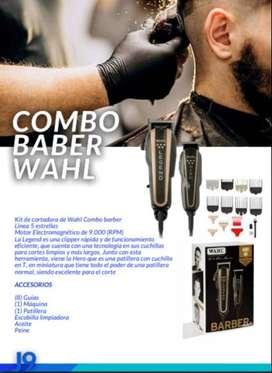 Kit de cortadora de Wahl Combo barber