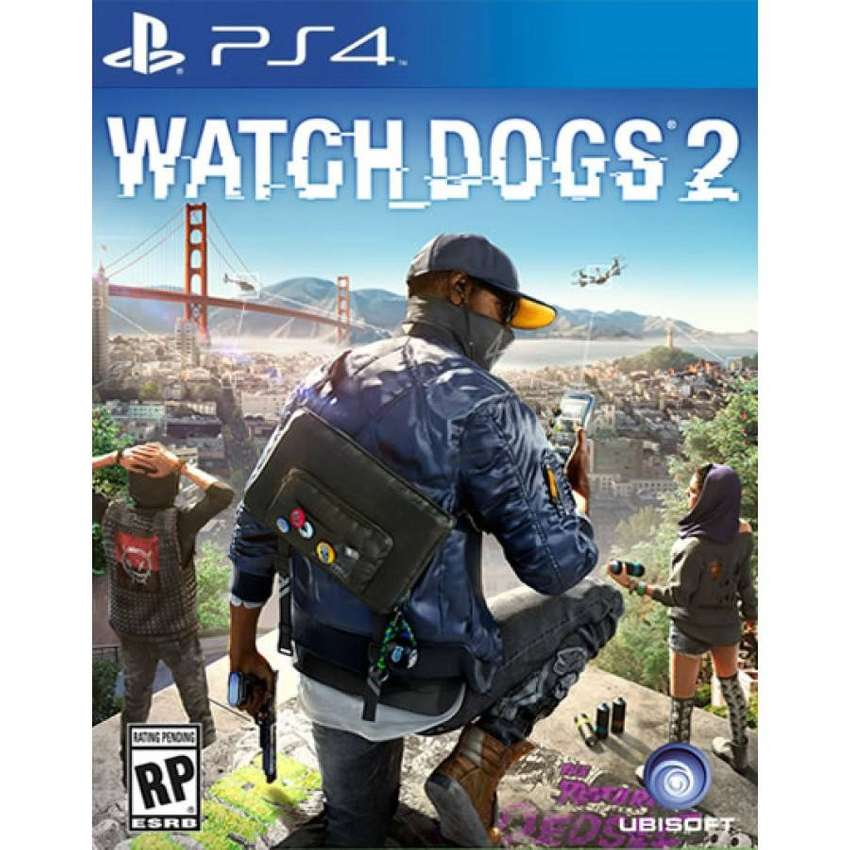 Watch Dogs 2 Playstation 4 Ps4, Físico