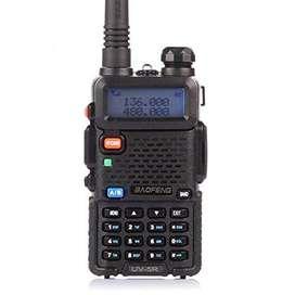 Handy Baofeng Uv5r 8w Bibanda VHF-UHF, batería de repuesto de regalo