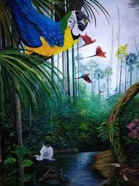 Obras de arte Amazónico