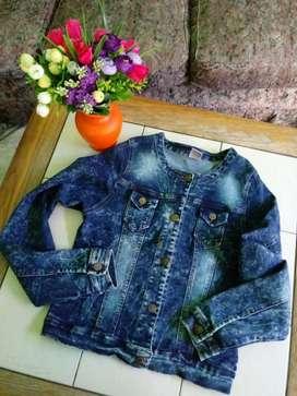 Campera Jeans Elastizada Talle S