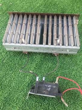 Quemador De 14 Elementos Original EUTERMA Calefon/caldera con electrodos de encendido