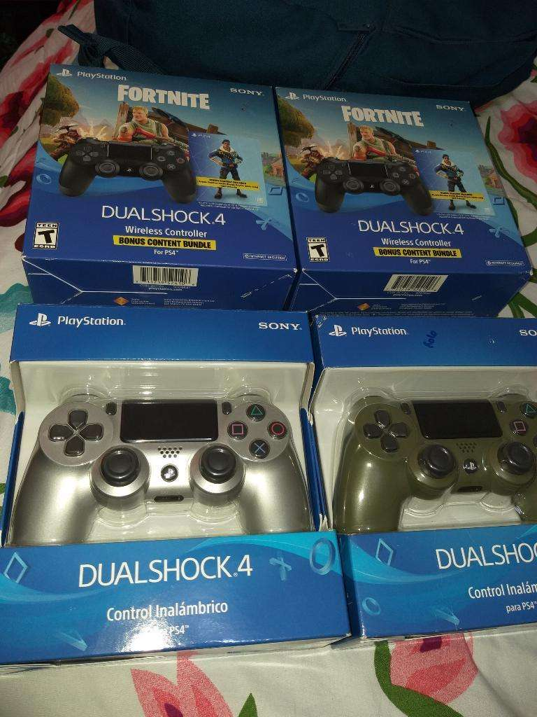 Controles Originales Ps4 3ra Generación 0