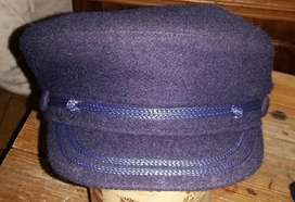 Gorra Capitan Paño Clasica Made England 55/56 Cms