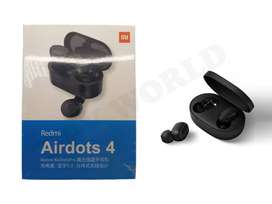 Audifonos Airdots 4 Tws Bluetooth Inalambricos Caja De Carga