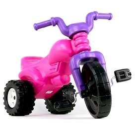 Triciclo moto montable