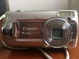 Cámara digital CANON PowerShot A470