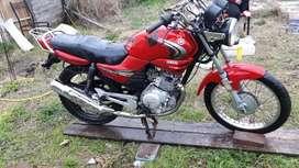 Yamaja ybr 125 vendo onpermuto por otra moto