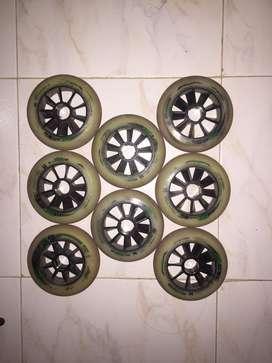 Ruedas mpc blackmagic 110mm usado