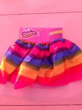 Faldas de 3 y 4 años