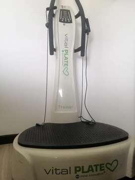 Maquina de ejercicio vital plate