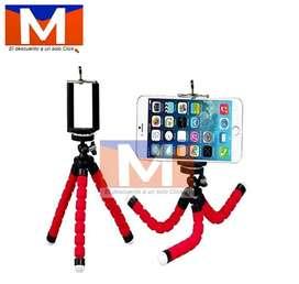 Trípode Tipo Pulpo Flexible Para Dispositivos Móviles