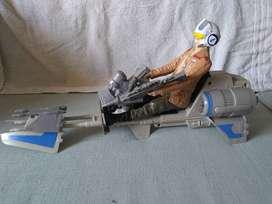 Star Wars The Force Despierta De 12 Plg Moto Jet.