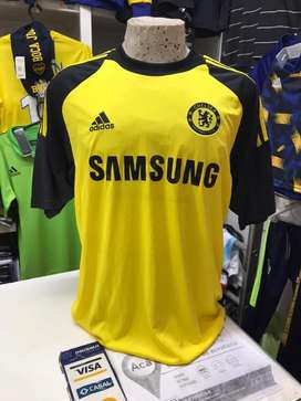 Camiseta chelsea amarilla samsung inedita