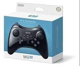 Control Para Consola Nintendo Wii U - Negro-