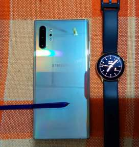 Samsung note 10 plus  y whatch active 2 lte gold