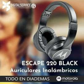 Audifonos Bluetooth Inalámbricos MOTOROLA ESCAPE-220 Original