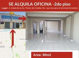Alquiler de Local 2do piso en Avenida