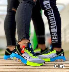 Zapatos deportivos para dama caballero y niños
