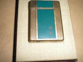 Encendedor DUPONT,de laca china y oro